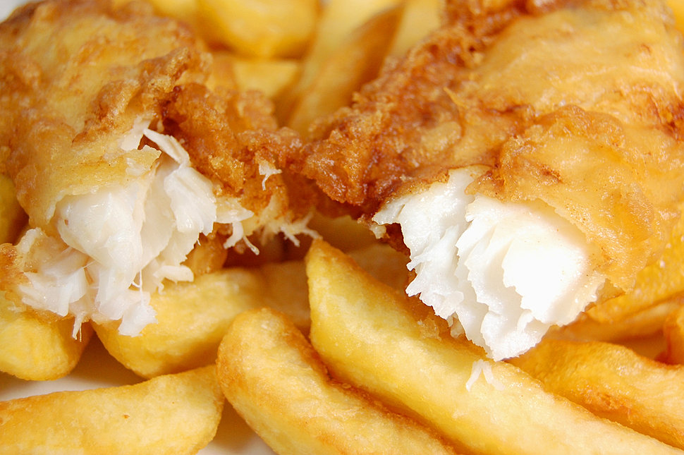 Pub Style Fish 'n Chips