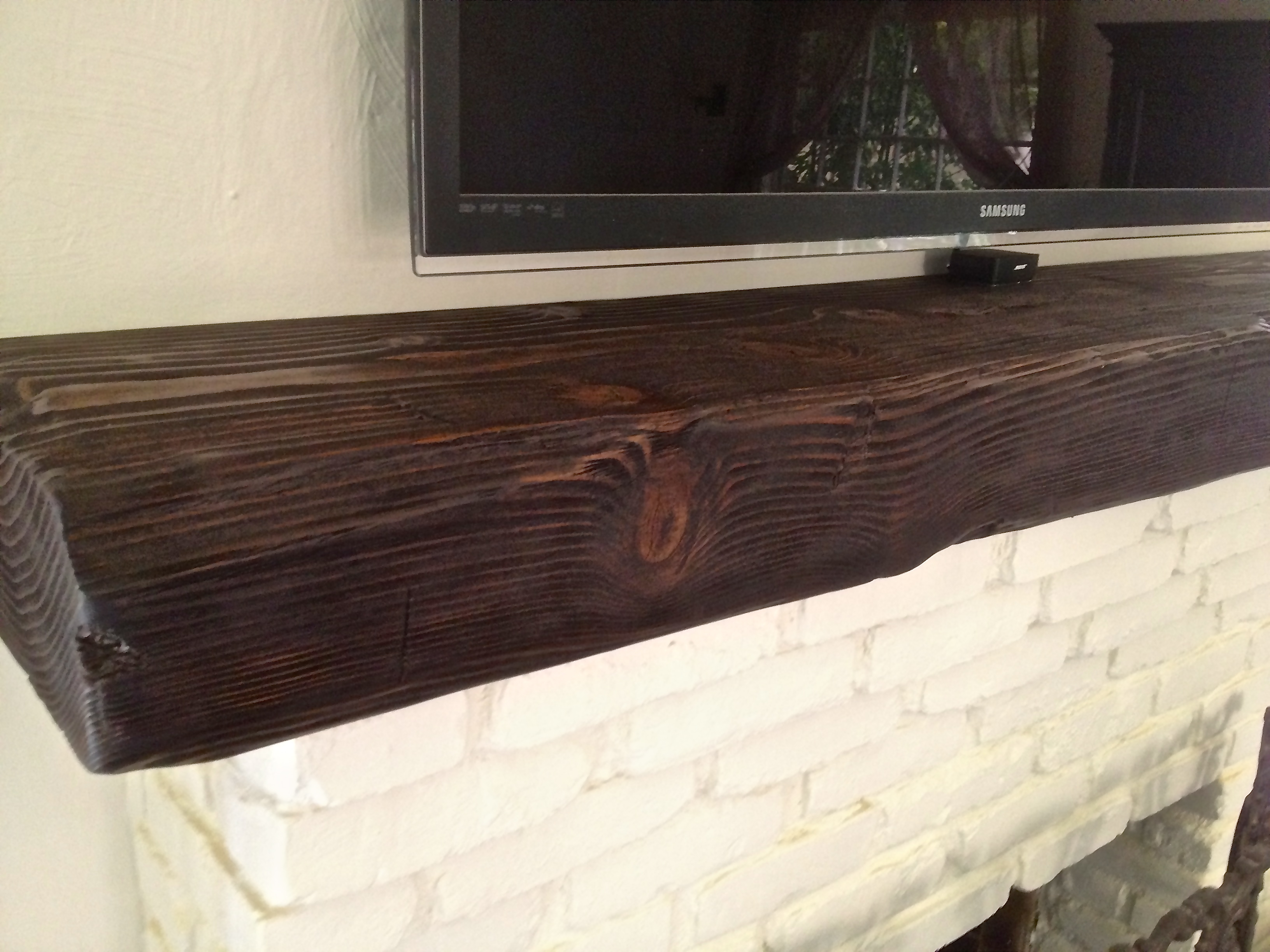 Reclaimed Wood Mantels, Rustic Mantels, Reclaimed Fireplace Mantel