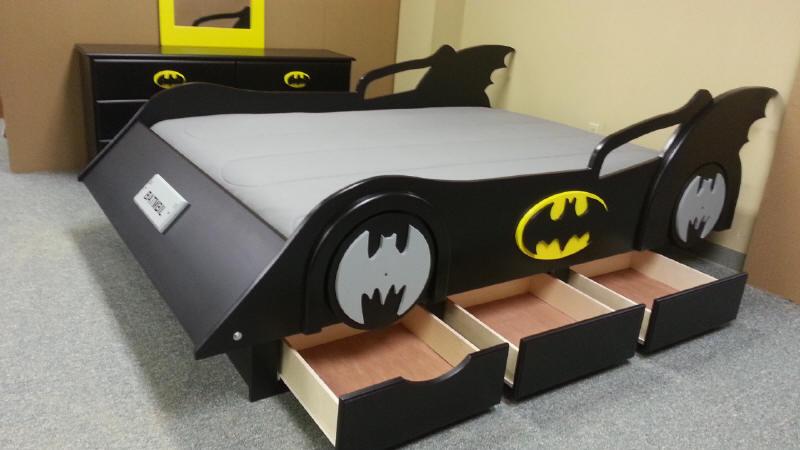 Batman Batmobile Bed
