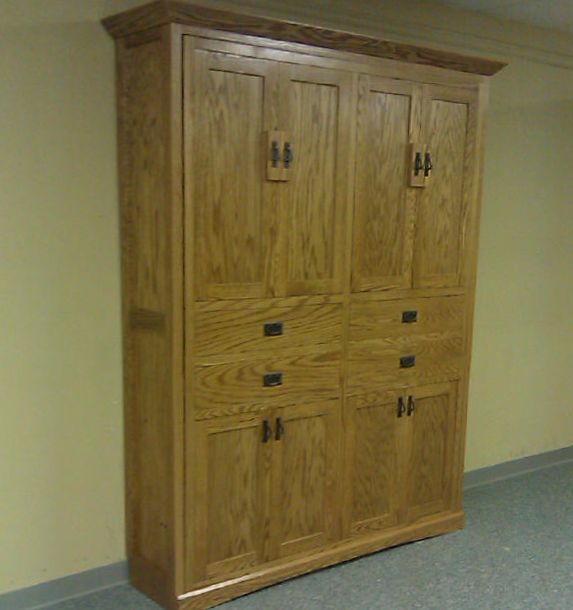 Mission Style Murphy bed
