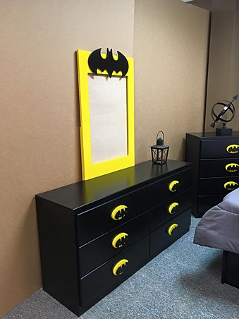 Batman Dark Knight Headboard