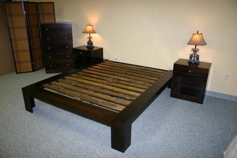 Oriental Platform Bed
