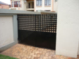 Steel Security Gates fitted