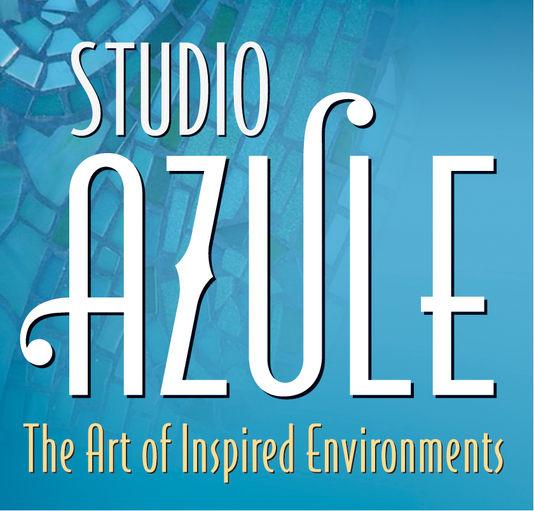 studio azule logo block
