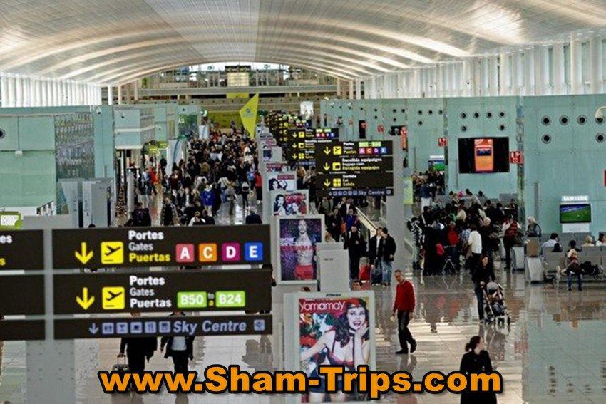 Барселона аэропорт сайт