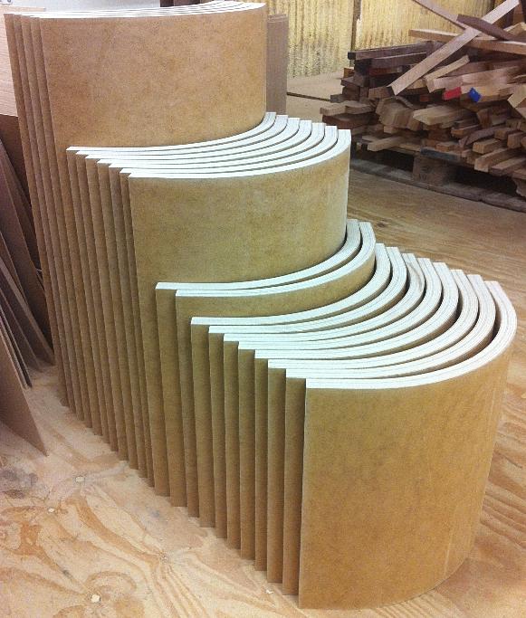 Curve Craft, solid wood curved doors, curved cabinet doors | Mdf Slab ...