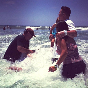 Moonlight Beach Baptism Highlight