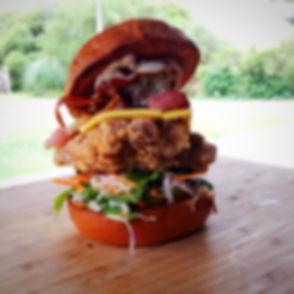 Gourmet Chicken Burger