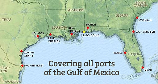 Duty Free Ship Supply In New Orleans And The Gulf Of