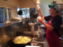 Photo of the Commerical Kitchen at Well Being Retreat Center in Tazewell, tn