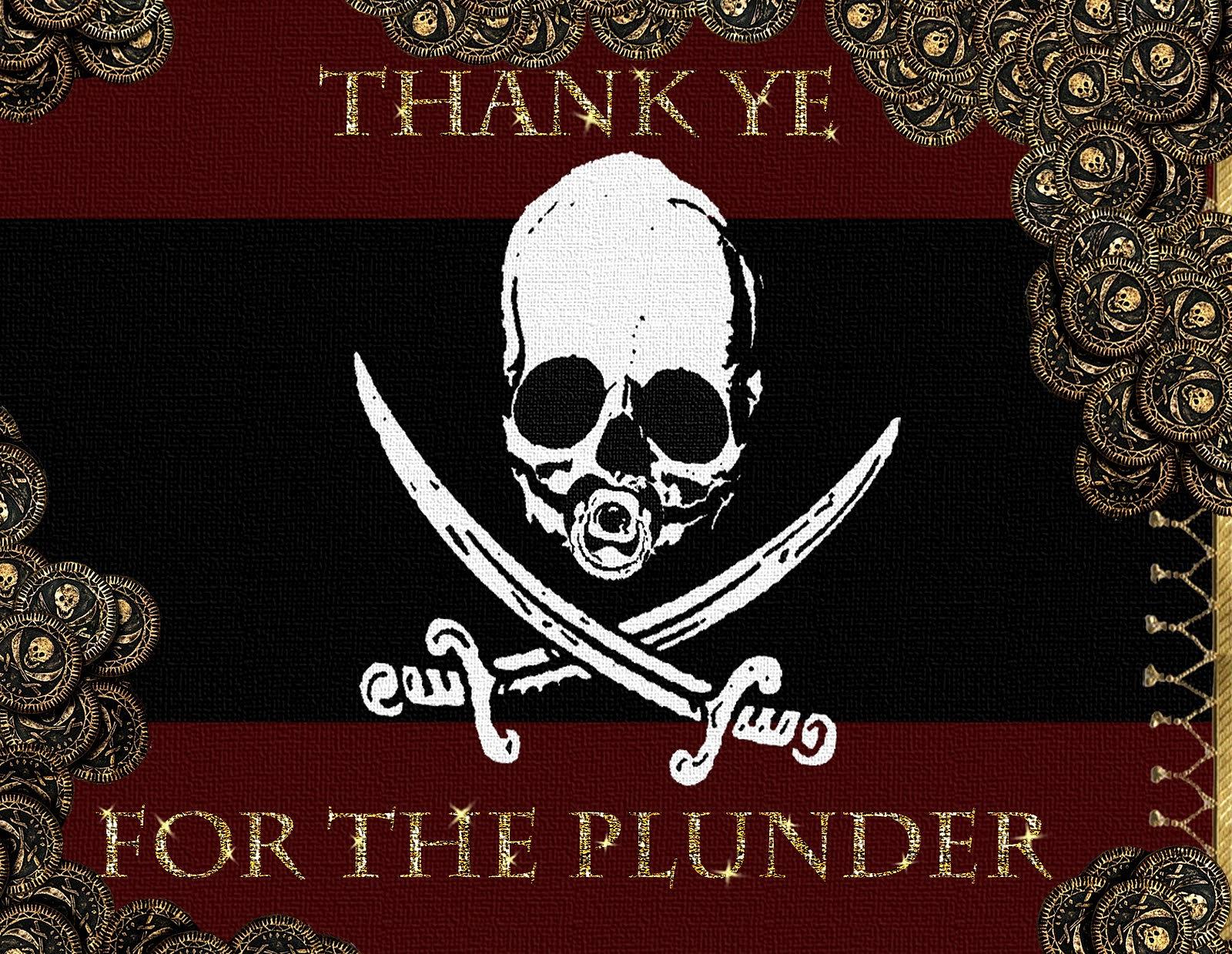 The corresponding thank you card.