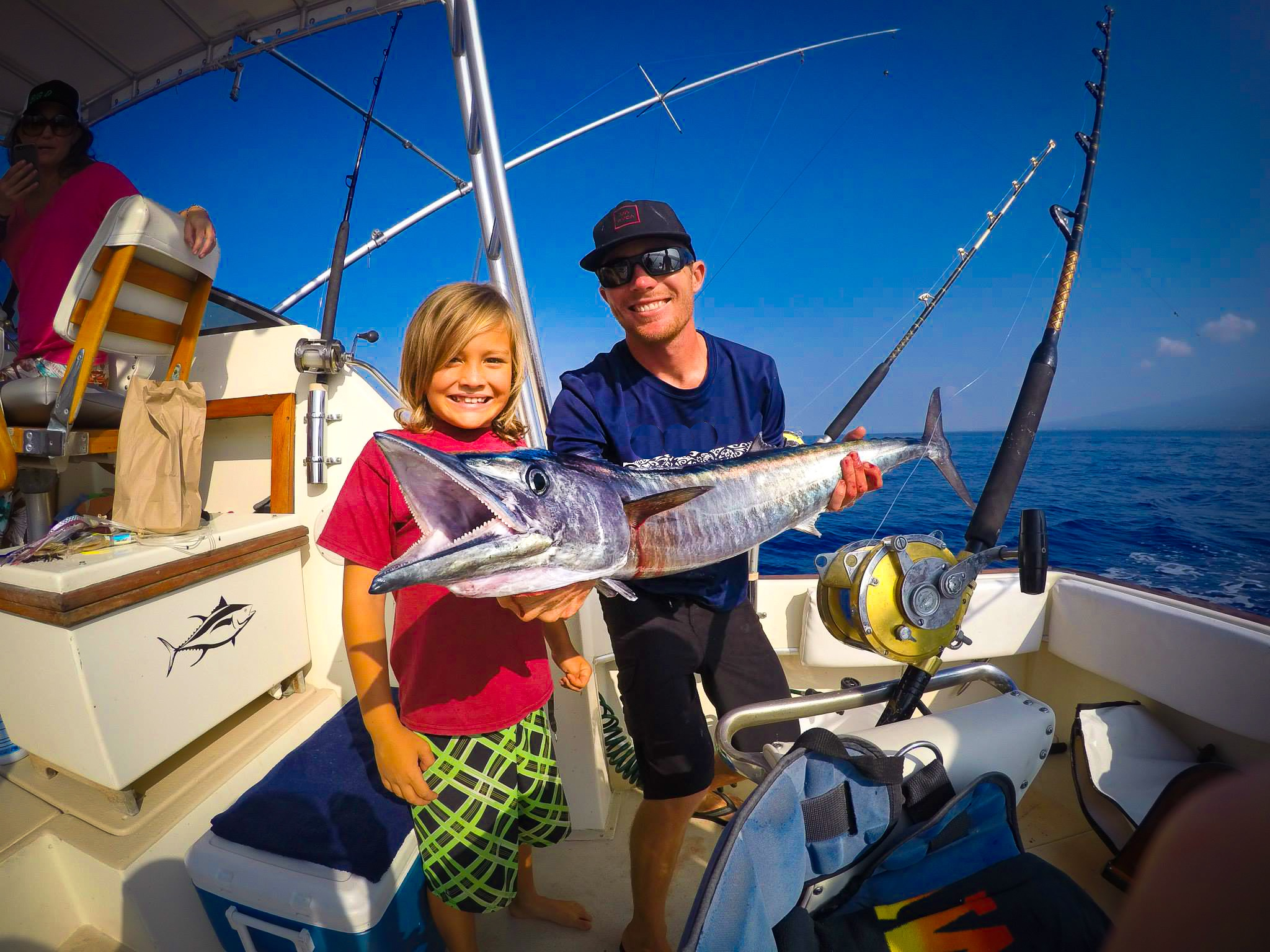 Bring the whole family for a day of fun sportfishing for Hawaii fishing charters