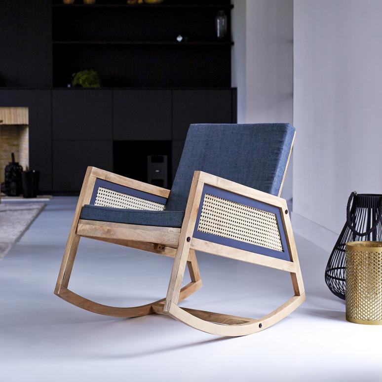rocking chair fauteuil cannage de la marque TIKAMOON