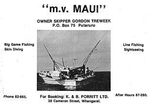 M V Maui