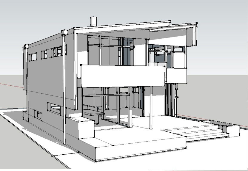 Septic System Elevation : Wix gds created by gilmourdesignstudio based on photo