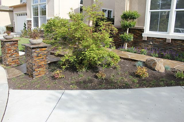 Landscaping front yard landscaping ideas no lawn for Landscape ideas no grass