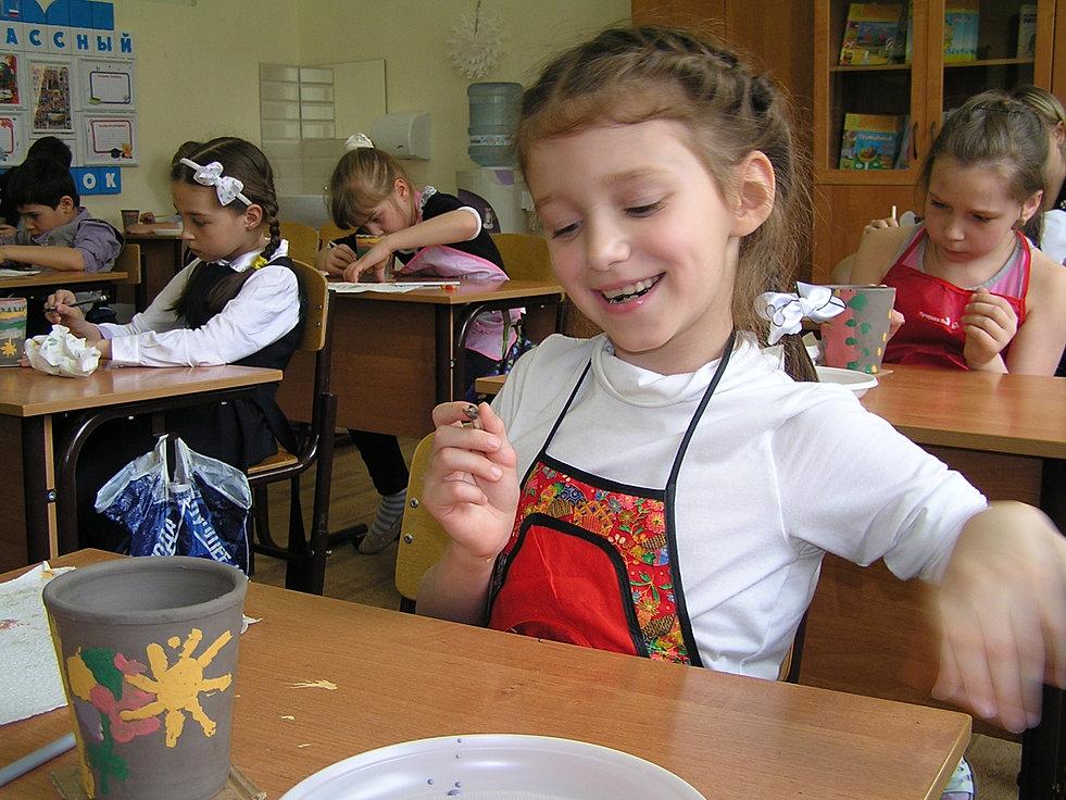 Мастер класс по гончарному делу для детей москва