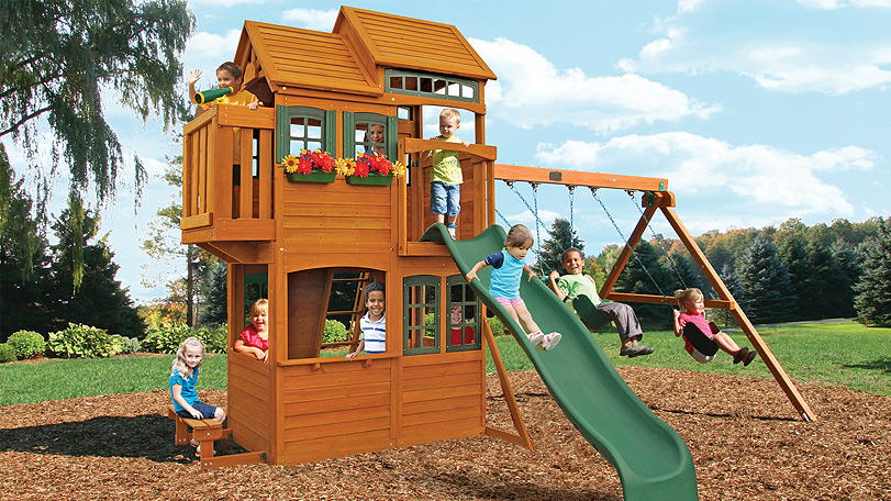 Huge Backyard Playsets :  by Big Backyard  Wooden Swingsets & Playsets  Backyard Imagination