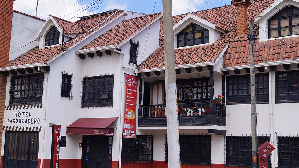 Hotel Ducado Andaluz Tunja Boyaca el hospedaje mas barato en Tunja