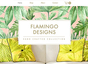 Home Accessories Template - An attractive and modern eCommerce template to put your products in the limelight. Control the tone of this template by simply changing the images to reflect the style and feel of your store. To begin, upload your products using Wix Stores, customize the FAQ, and highlight your newest items. Start editing now to get your products online today!