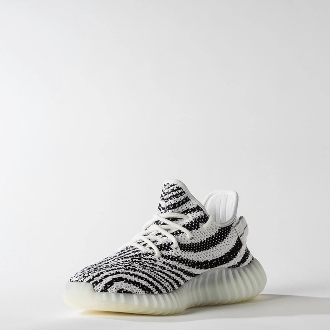 Free Shipping Yeezy boost 350 v2 'Zebra' infant sizes High Top Black