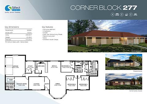 House designs for corner blocks melbourne