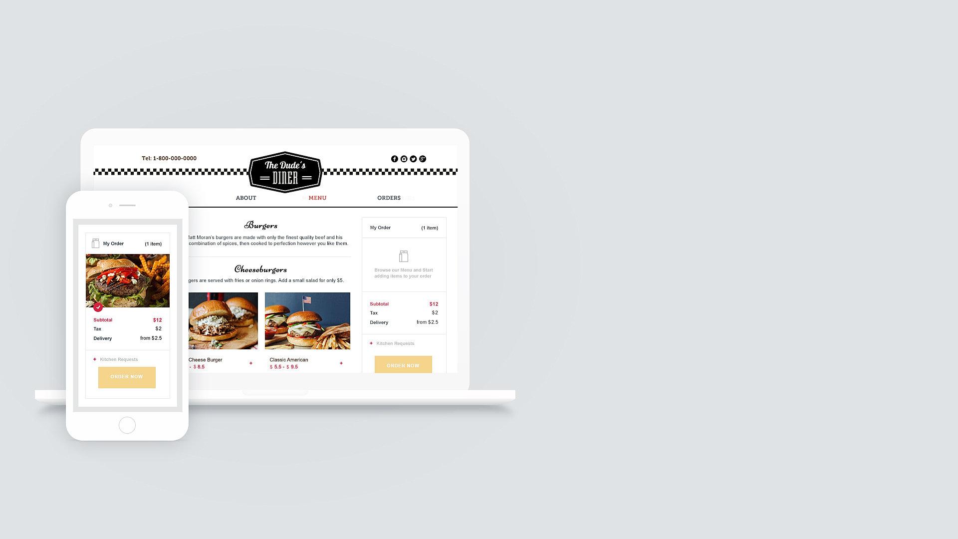 restaurant website builder online ordering system com online ordering made easy