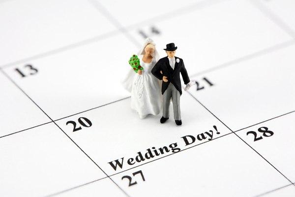 Подготовка к свадьбе.