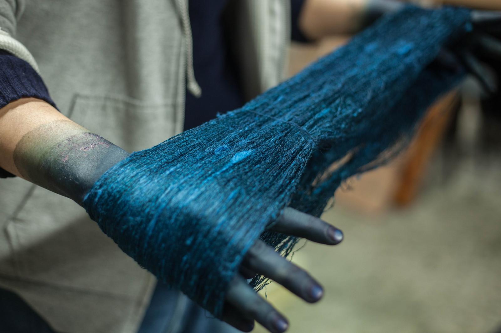 Buaisou indigo dye for The indigo