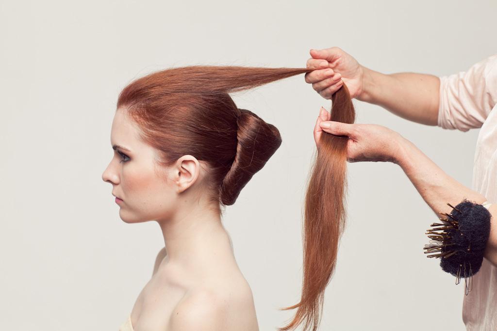 Причёска мастер класс на длинные волосы