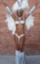 Samba Dancer and Model