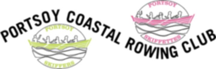 Portsoy Coastal Rowing Club Logo