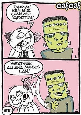 Camia Örgütü: Doktor Frankenstein'in