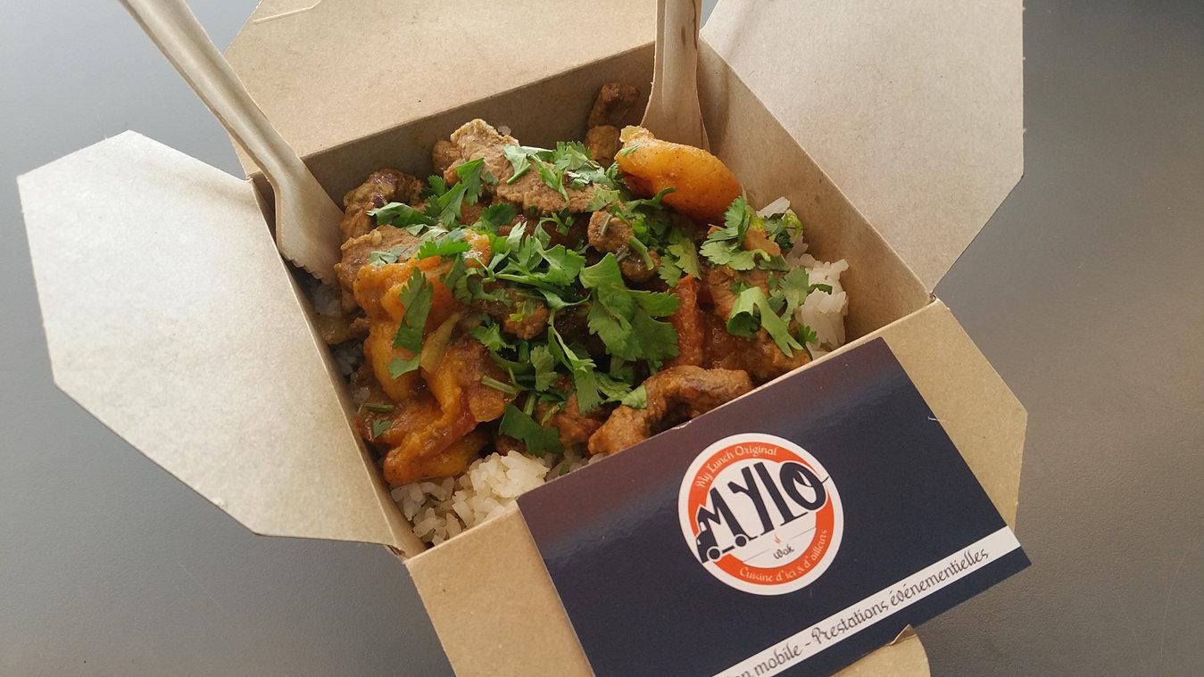 Favorit Mylo Food Truck Lyon : Traiteur original mariage, anniversaire KR49