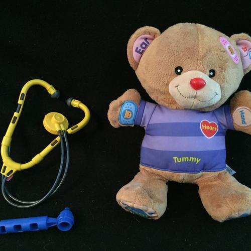 VTech Care and Learn Teddy | eBay