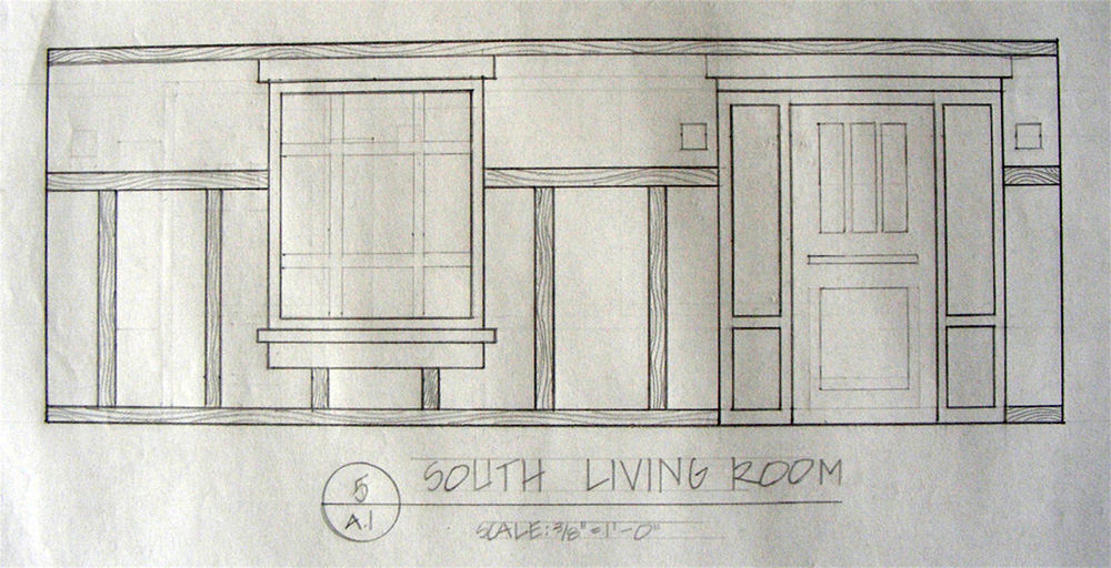Design portfolio created by kristencd based on for Living room elevation