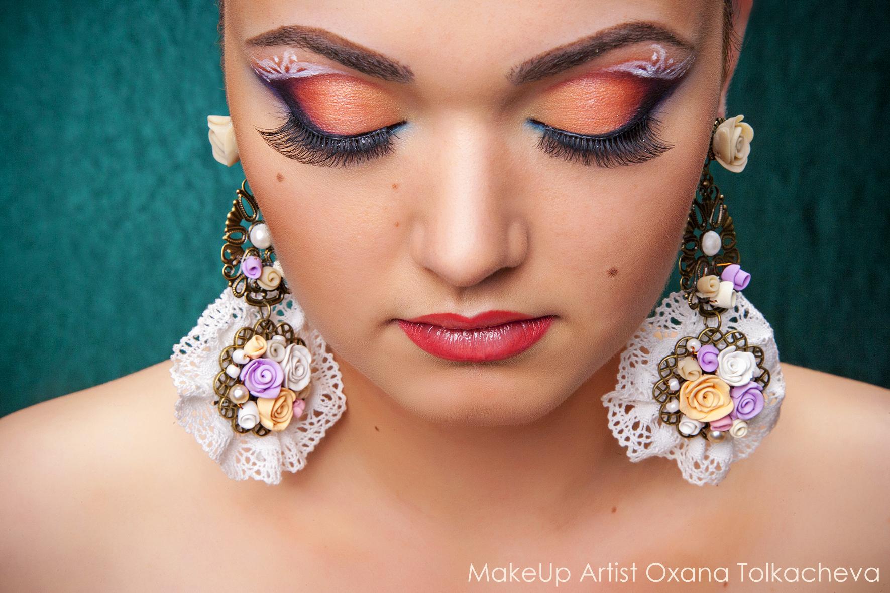 Обучение макияжа на профессиональной косметике5