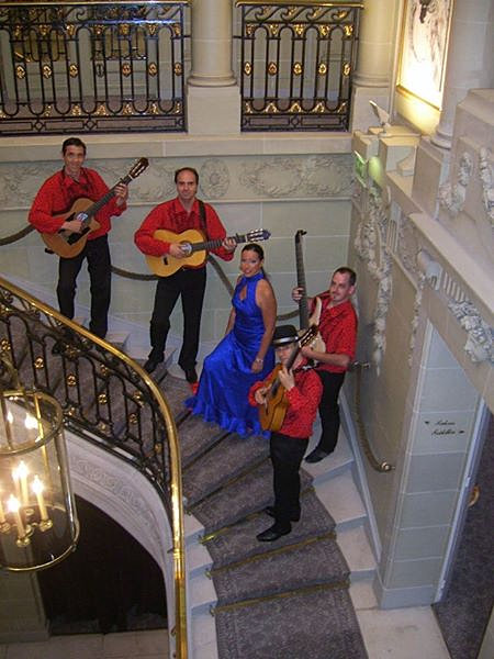 animation flamenco mariage vin dhonneur musique gipsy franky joe texier - Groupe Gipsy Pour Mariage
