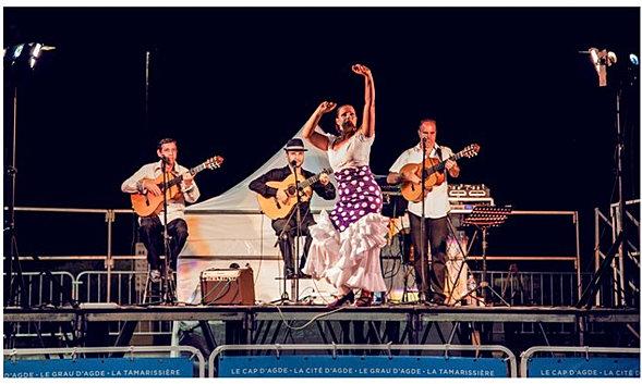 soire sur le thme de lespagne danseuse flamenco guitariste gipsy rumba - Groupe Gipsy Pour Mariage