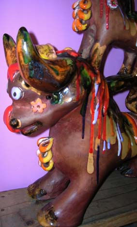 Toro de Pucara- 45x37x12 cm