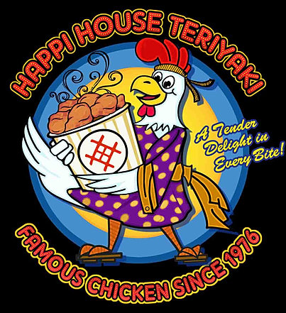 Happi House Cartoon Chicken