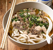 Udon Soup at Happi House