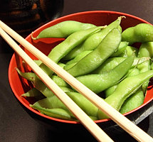 Fast Food Edamame from Happi House