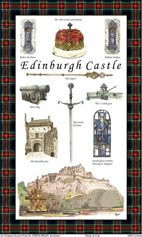 Edinburgh castle tea