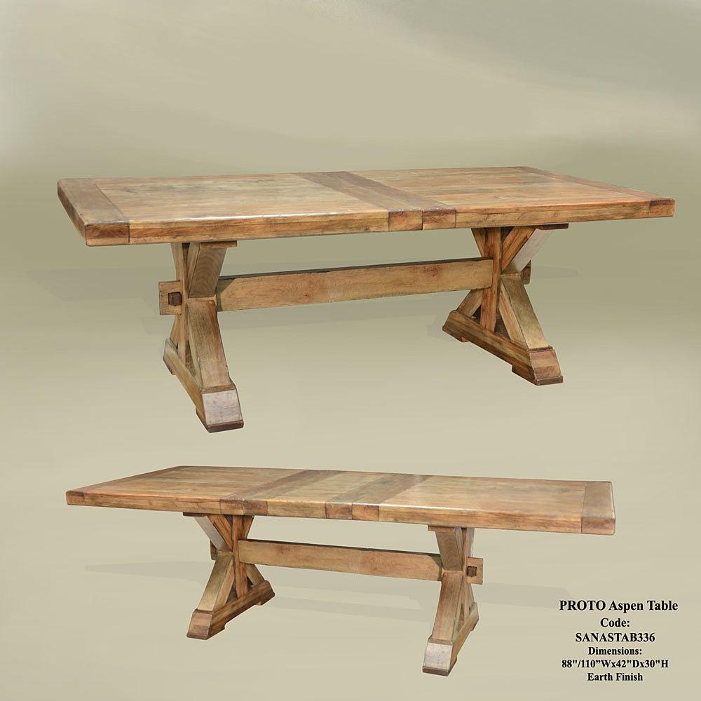 Pecan wood furniture dining