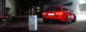 COLUMN.be unique meets Audi