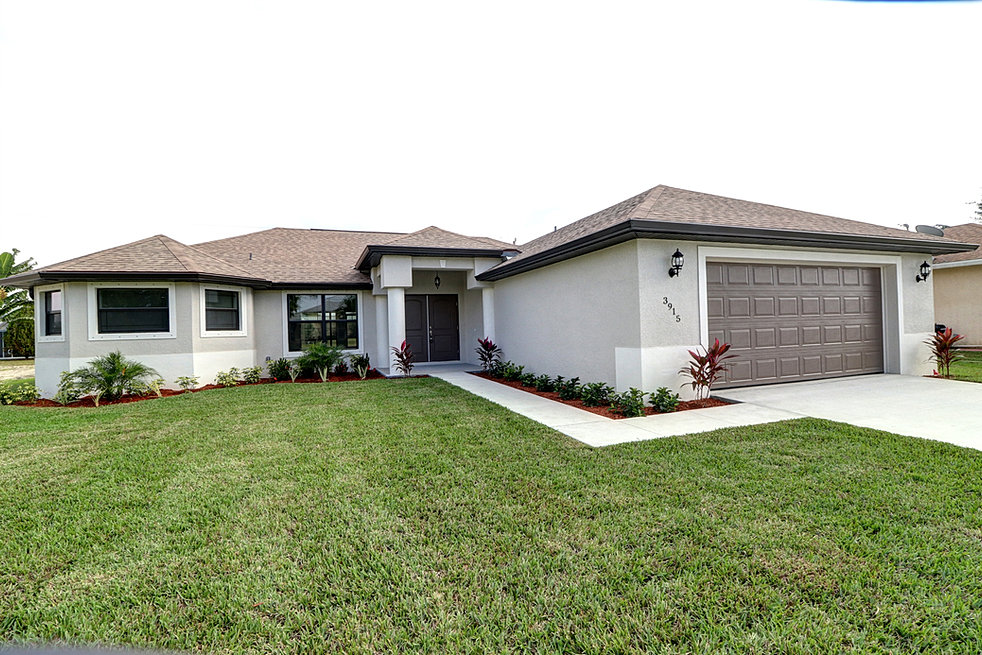 Model homes in cape coral florida