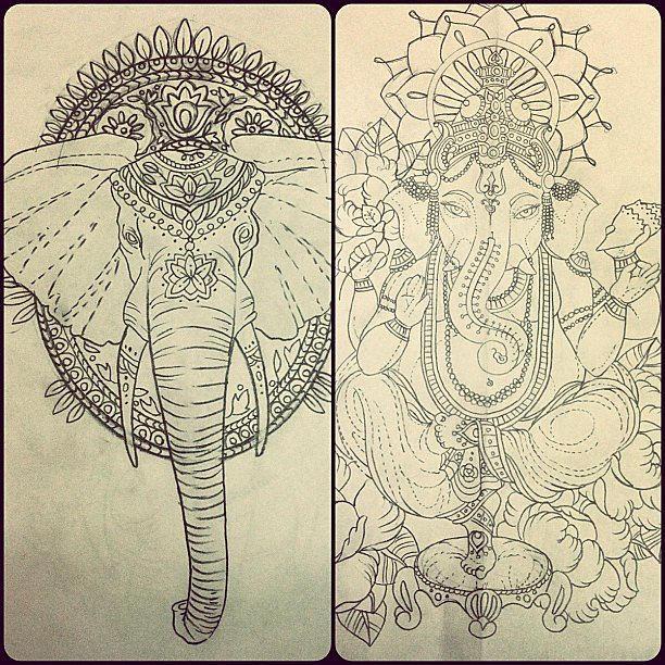Elephant Drawing Elephant Line Drawing Jpg