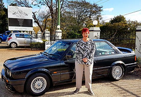 Sandra with our E30 325is.jpg