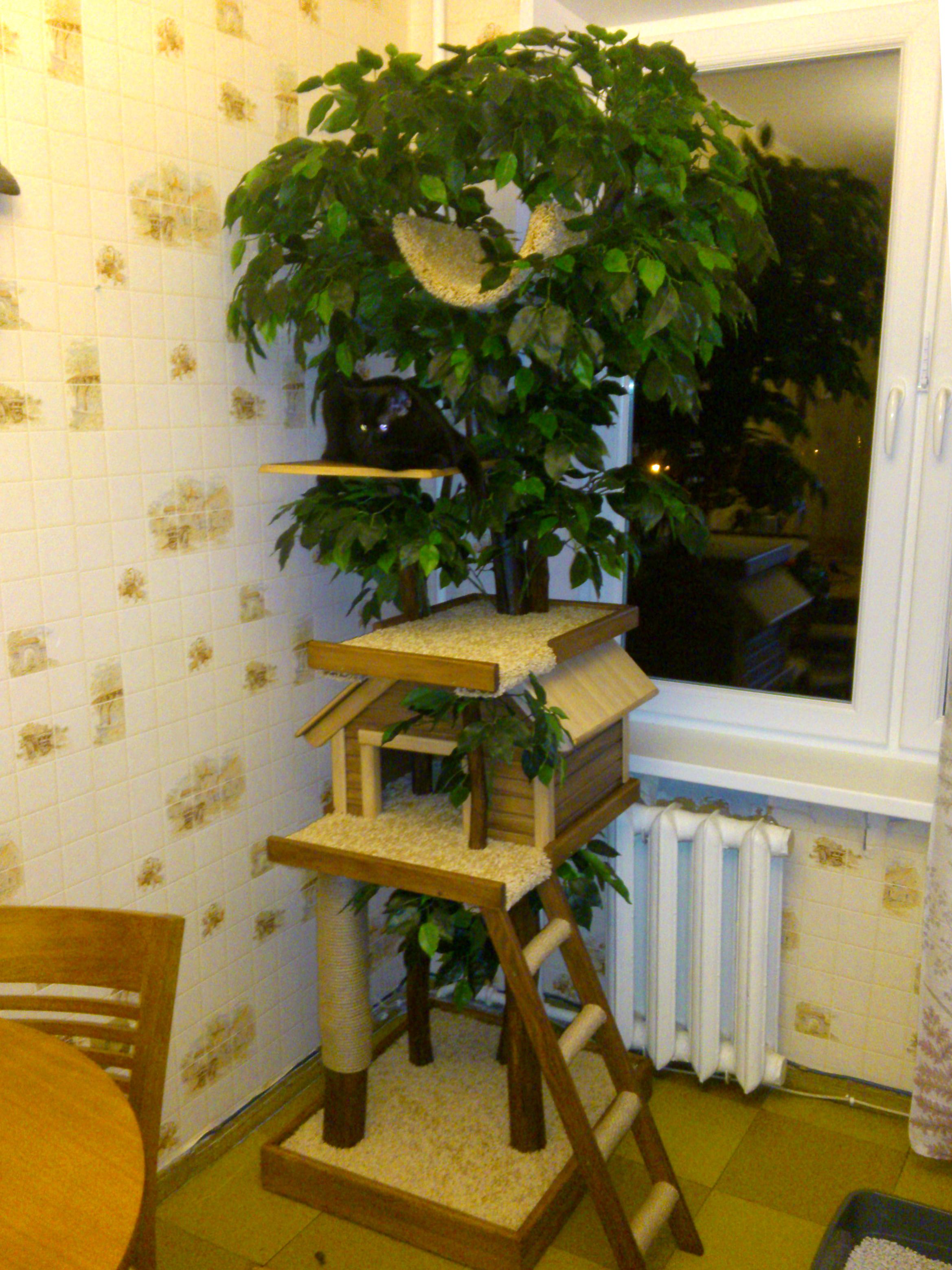 Дерево в дом своими руками